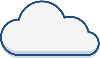 Graphic of a cloud